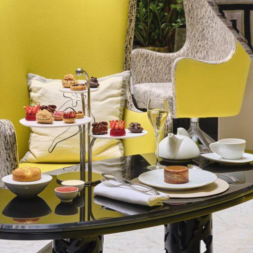 LE BURGUNDY PARIS - Afternoon Tea Invitation au Voyage pour deux personnes