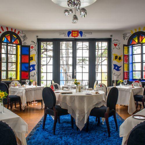Le Donjon - Domaine Saint Clair - La vue et la table*