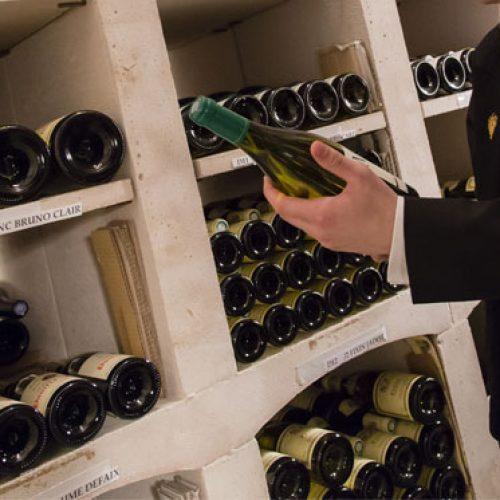 EVIAN RESORT - Menu du Marché en accord mets et vins au restaurant La Table