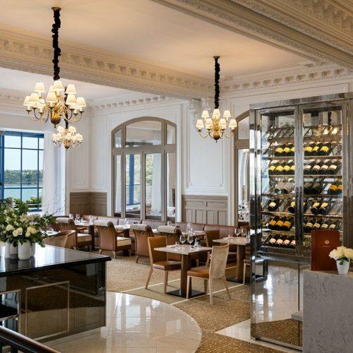 GRAND HOTEL & CASINO BARRIERE DINARD - Gourmandises & Papilles Face à la mer, dîner au Champagne