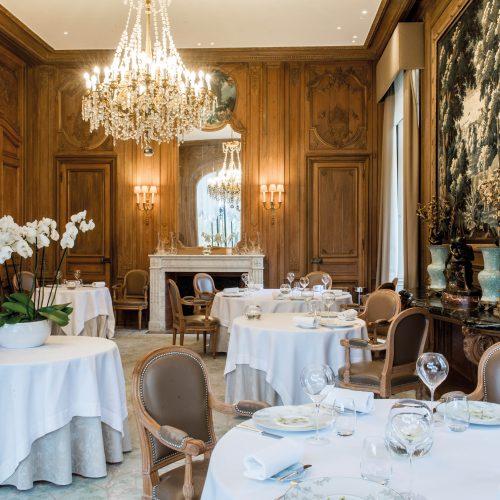 LES CRAYÈRES - Déjeuner au restaurant Le Parc** / 4 séquences