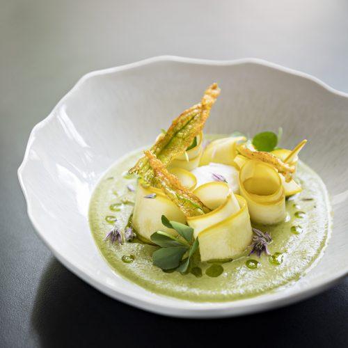"""Domaine de Fontenille - La Cuisine d'Amélie : menu """"Coup de Cœur"""""""