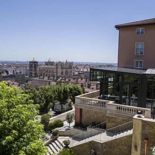 """La Villa Florentine - Invitation """"Menu en 4 services"""""""