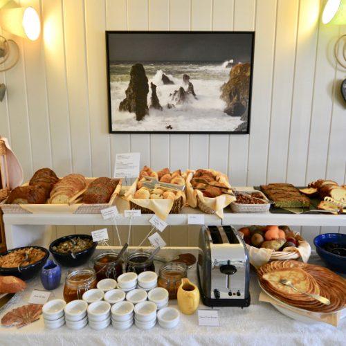 Hôtel-Restaurant-Spa La Désirade - Petit déjeuner à La Désirade
