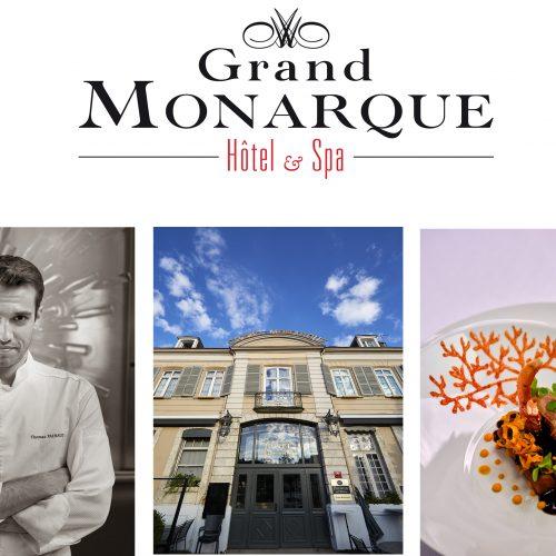 LE GRAND MONARQUE - Dégustation au Georges