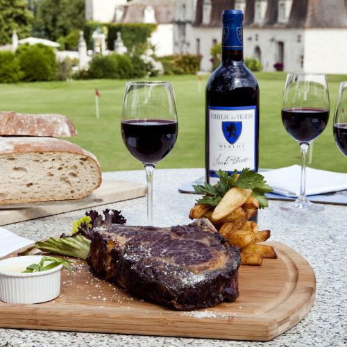 Château des Vigiers Golf Country Club - DINER AU BISTROT DES VIGIERS