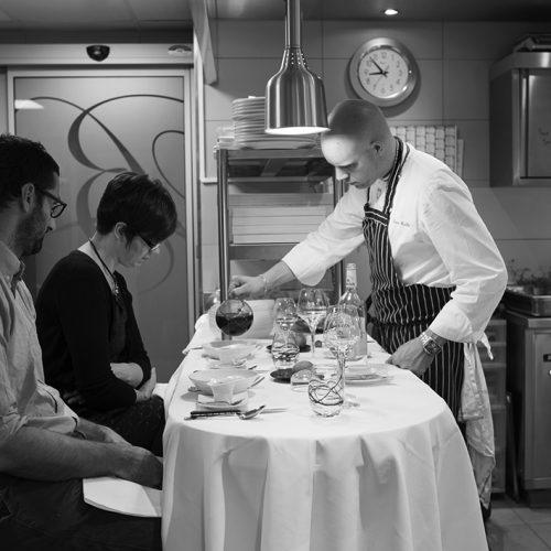 Restaurant Pierre Caillet / Hôtel Le Bec au Cauchois - Diner Côté Cuisine