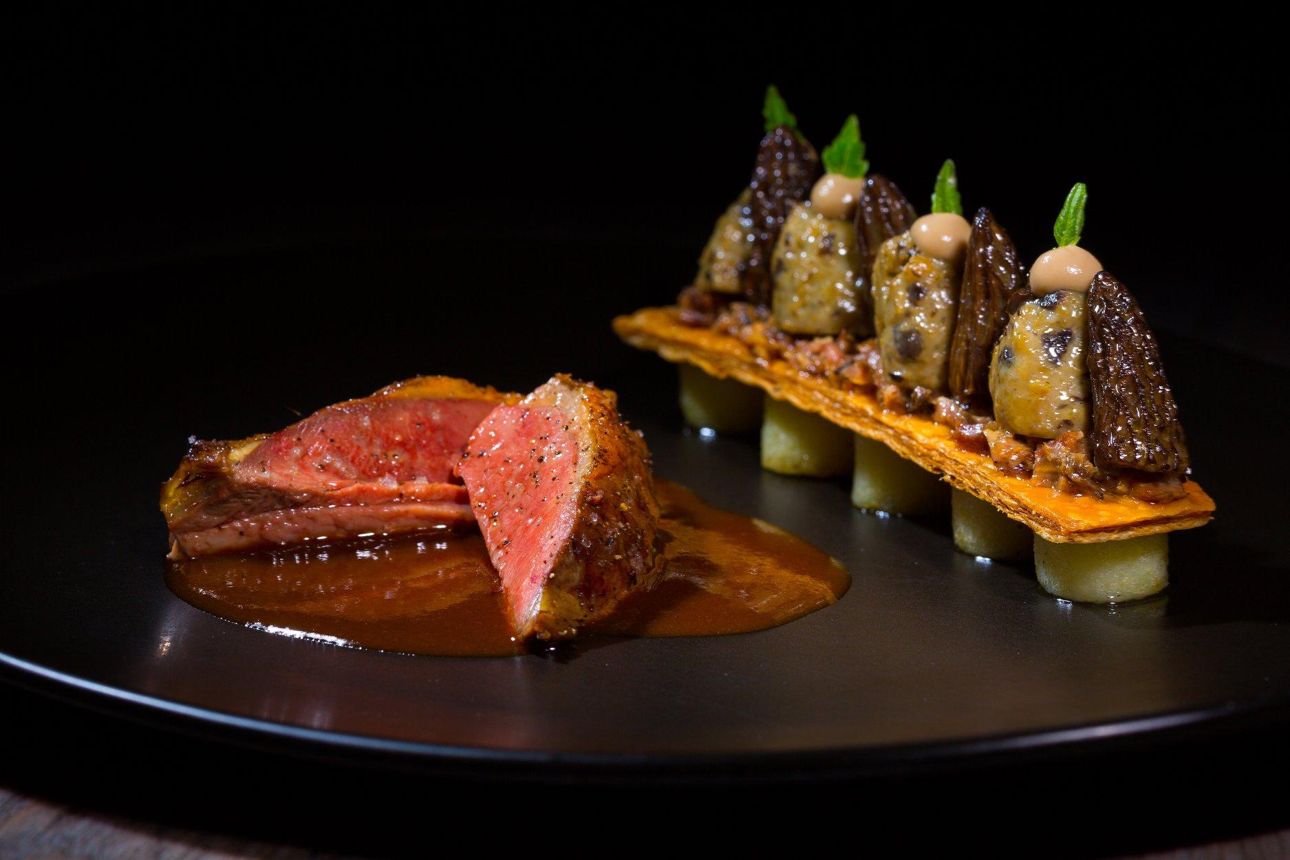 AUBERGE AU BŒUF - Histoire Gourmande (nuit et menu 6 plats)