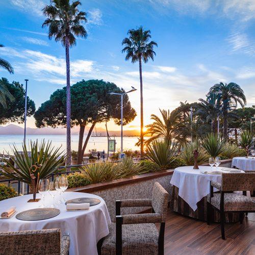 Hôtel Martinez - Restaurant ''La Palme d'Or''** - Menu Dégustation avec accord mets & vins