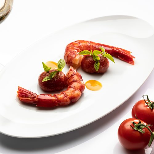 - Menu gastronomique en 6 actes