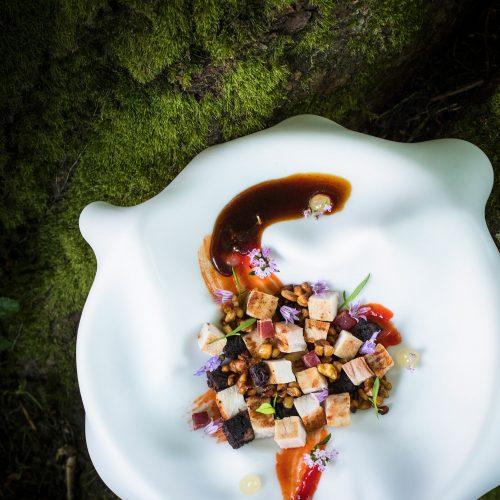 L'AUBERGE BASQUE - La Randonnée culinaire  en 5 services hors boissons