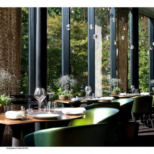 HOTEL ET SPA LE PAVILLON - RESTAURANT LA ROTONDE - Déjeuner Gourmand