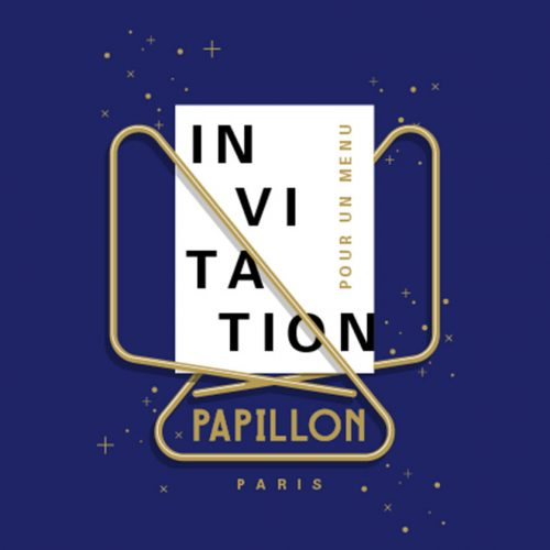PAPILLON - Invitation Papillon