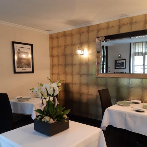 Restaurant Pierre Caillet / Hôtel Le Bec au Cauchois - La Grande Calville avec Vin