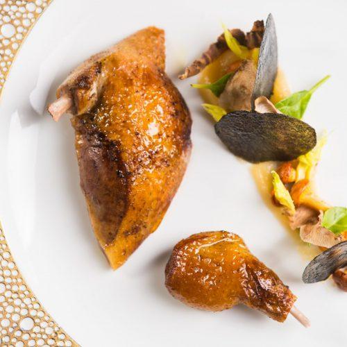 L'Auberge de Saint Rémy de Provence - Restaurant Fanny Rey - Coffret Grand menu Terrain de Jeu, Avec accord, mets & champagne