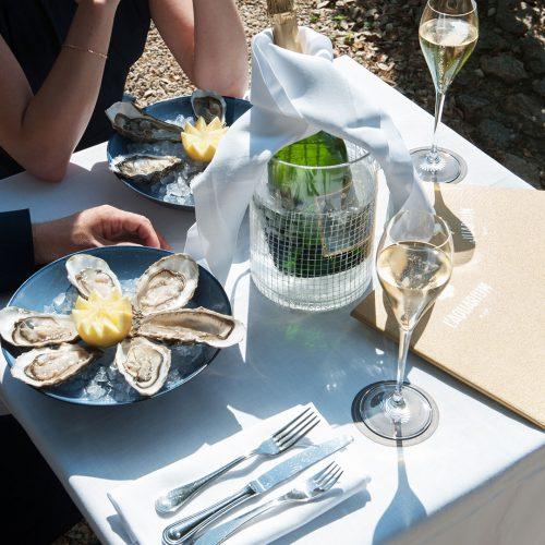 HOTEL CASTELBRAC - Plateau de fruits de mer à partager