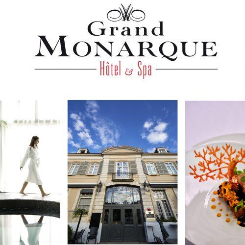 LE GRAND MONARQUE - Table étoilée et Détente au Spa