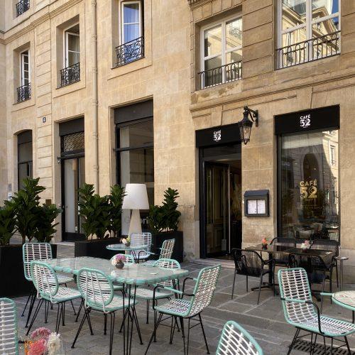 Grand Hôtel du Palais Royal - Un repas au Café 52 Paris 1er