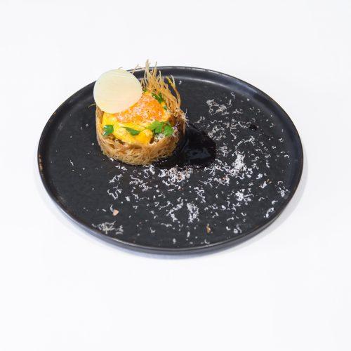 """HOSTELLERIE DE LA POINTE SAINT MATHIEU - Menu """"Une pointe de sel"""" avec Accord mets et vins"""