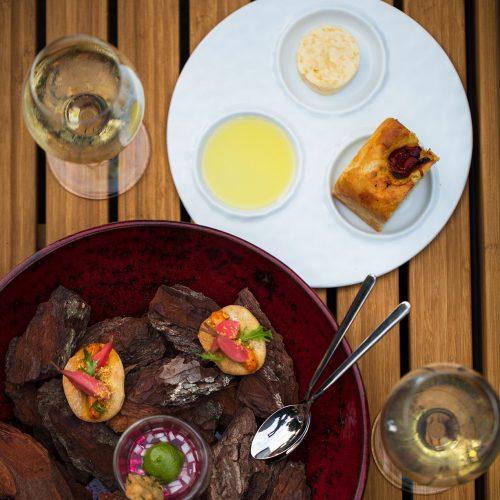 L'AUBERGE BASQUE - La Randonnée Culinaire en 4 service avec accords mets et vins
