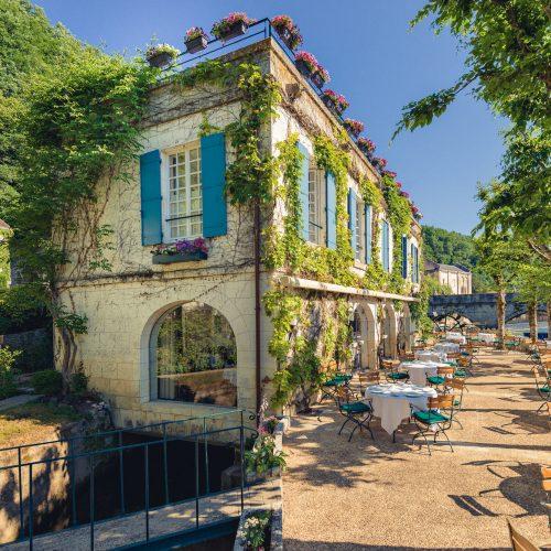 Hôtel Le Moulin de l'Abbaye - Carte de saison en 4 services