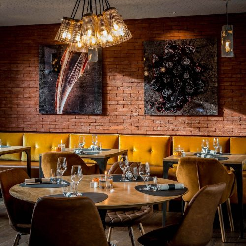 LuluRouget - Diner «à mi-chemin»  les Yeux fermés