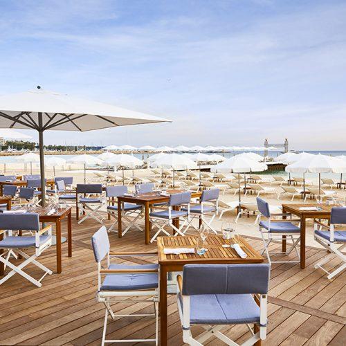 Hôtel Martinez - La Plage du Martinez - Un déjeuner les pieds dans le sable