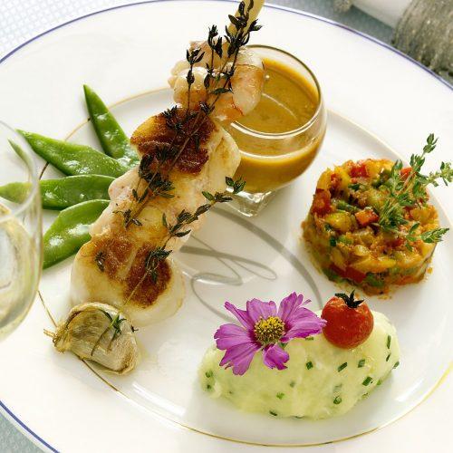 A La Cour d'Alsace - Menu gastronomique 4 plats & Vignoble