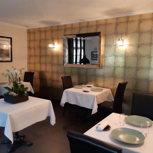 Restaurant Pierre Caillet / Hôtel Le Bec au Cauchois - Menu La Tentation avec Vin