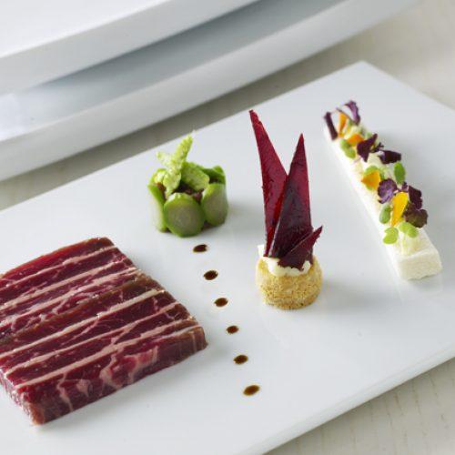 HOTEL LE FRANCE - Menu Gastronomique Jérôme Brochot 6 services