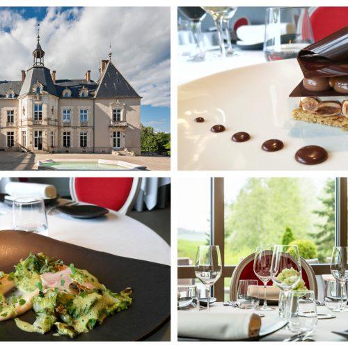 """CHATEAU SAINTE-SABINE - Menu """"Dégustation"""" Restaurant Le Lassey"""